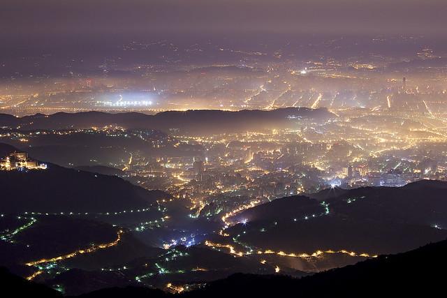 Taipei In The Mist