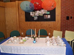 High Tea at Tawa Library 2011