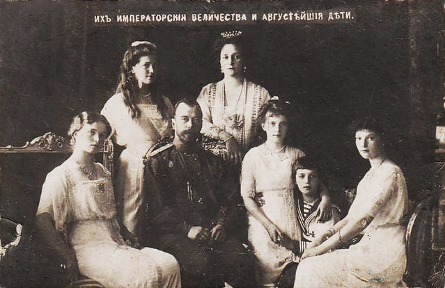 The Romanov Family all were executed