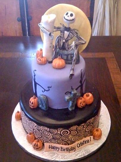 Jack Skellington Cake Www Cakesbygaby Com Gaby Triana