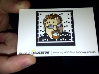 Microsoft Tag - MOO Card
