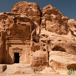 A Tomb at Little Petra (Al Beidha) - Jordan