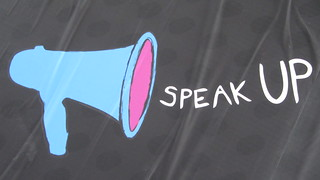 Speak up, make your voice heard by HowardLake on Flickr