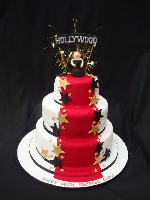 hollywood themed cakes