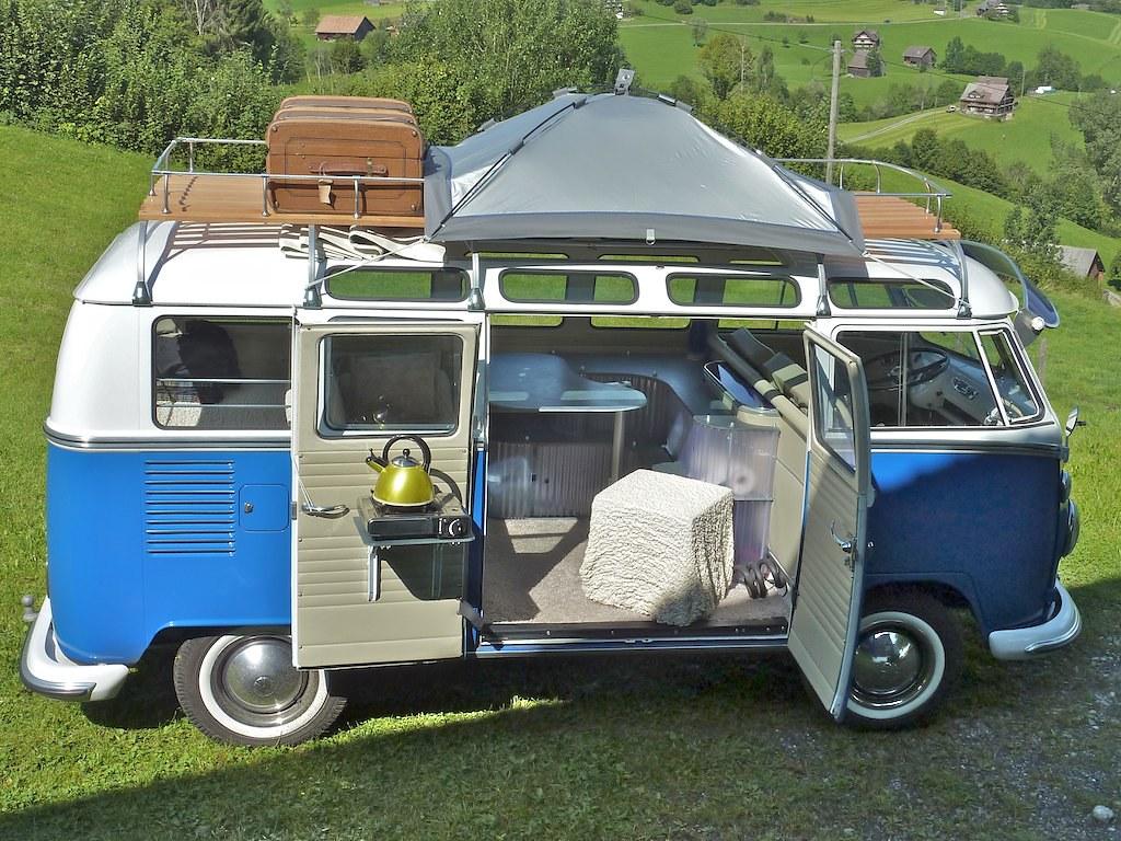 vw t1 samba als campervan a photo on flickriver. Black Bedroom Furniture Sets. Home Design Ideas
