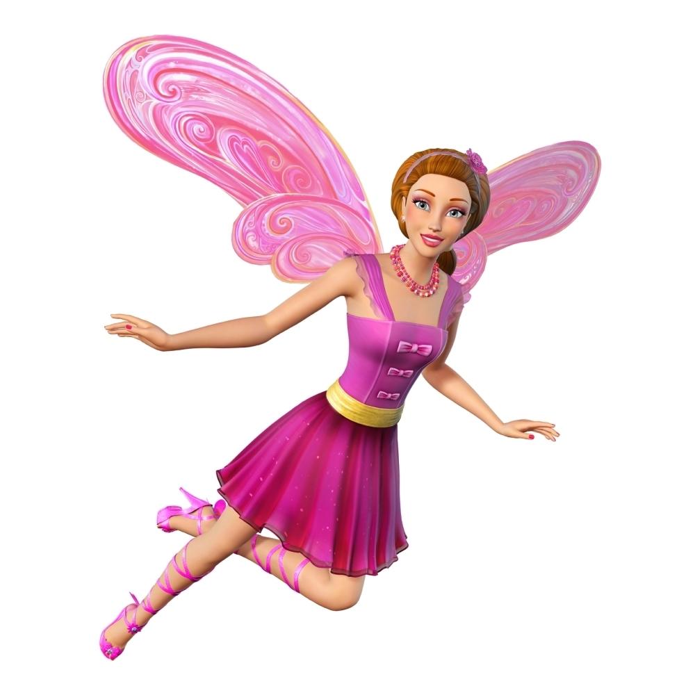 Barbie Fairy Secret Coloring Pages