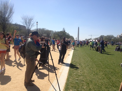 Vocus' #BeSuper Mp3 Experiment on the National Mall in DC