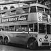 London transport B1 trolleybus 77 on route 654 Croydon.