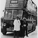 London transport B1 ,66 trolleybus on route 654.
