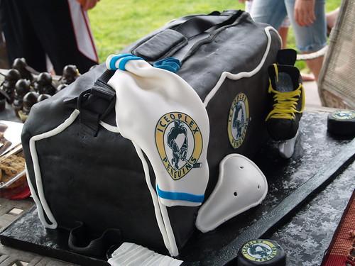 Hockey Bag Cake 082