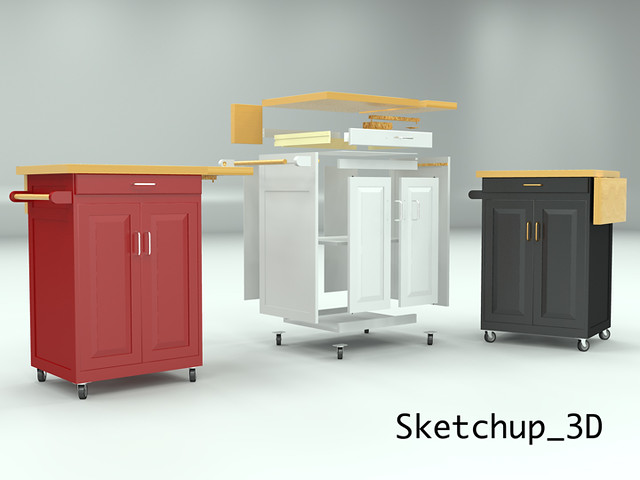Rolling Kitchen Cabinet Flickr Photo Sharing