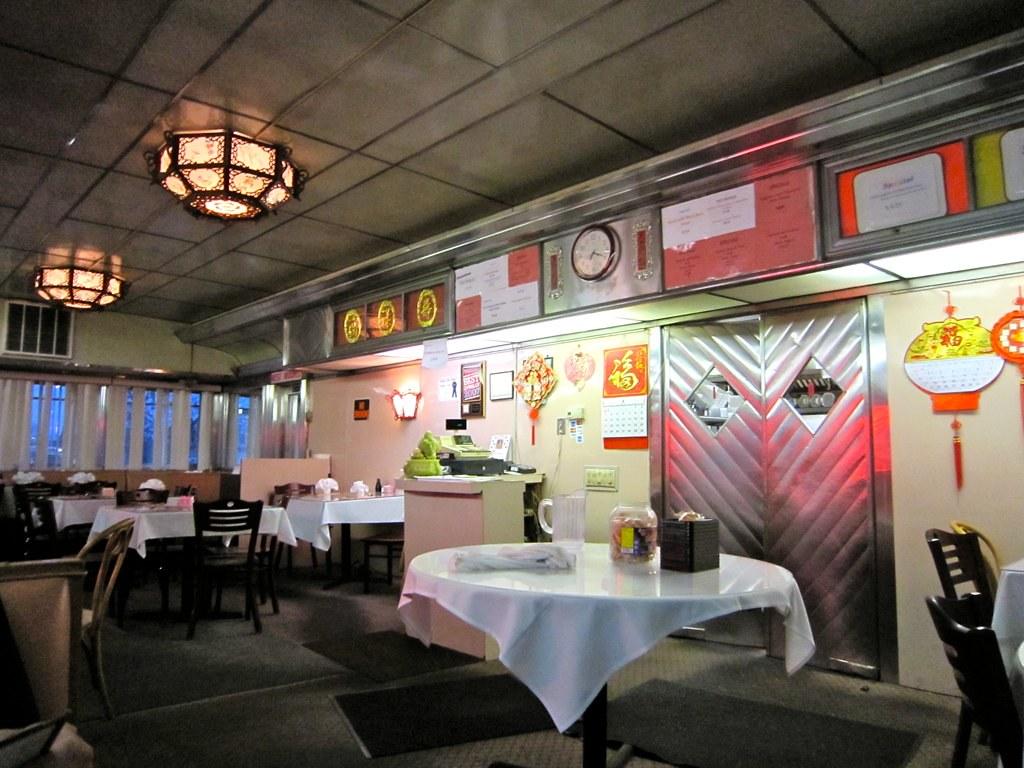 Interior Diner Chinese Restaurant Ardmore PA