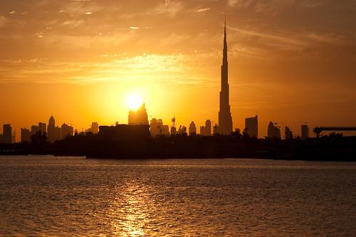Vista panorámica de Dubai