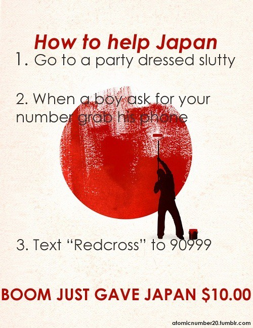 How to help Japan (funny version)