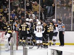 Boston Bruins vs. Atlanta Thrashers, April 2, 2011
