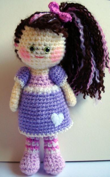 Crochet Amigurumi Blogs : Amigurumi Crochet Girl Doll Flickr - Photo Sharing!