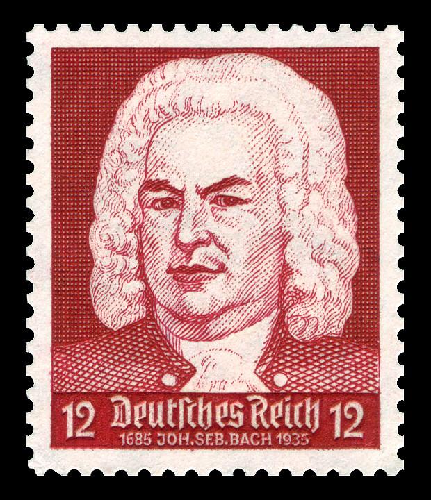 Johann Sebastian Bach, stamp