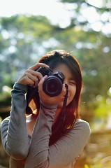 A Girl With Camera