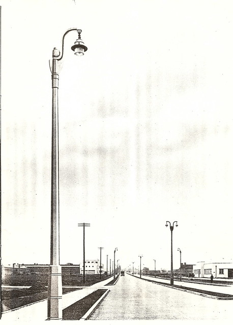 Stanton street lighting columns - catalogue pages