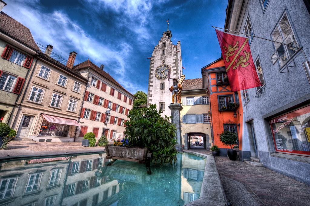 Siegelturm in der Altstadt von Diessenhofen TG