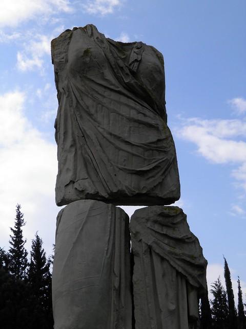 Monumental statue of Leto, Temple of Apollo, Klaros