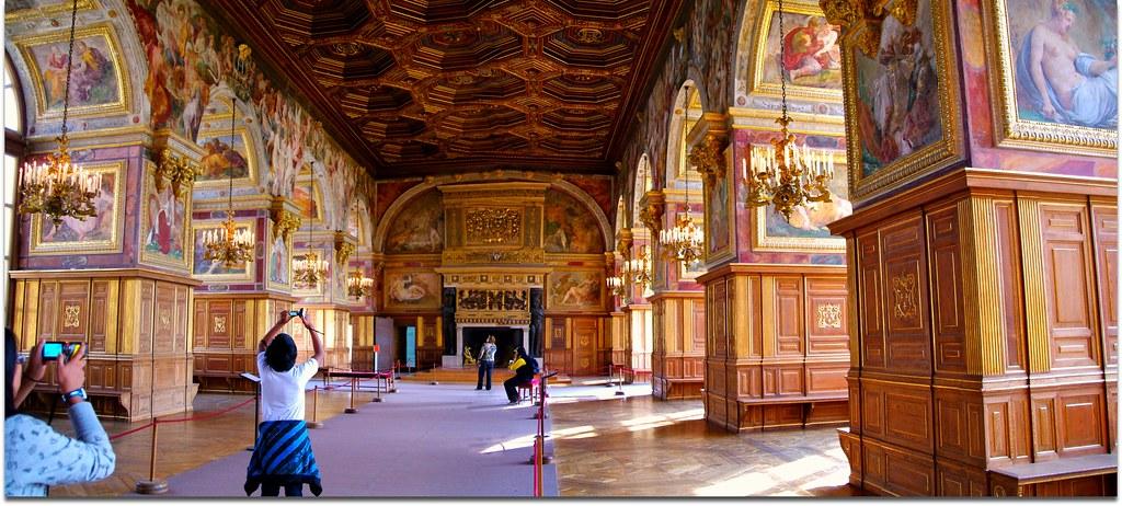 Salle de Bal - Fontainebleau - France