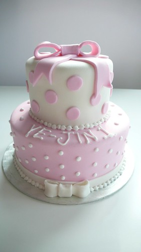 Pics Of Birthday Cakes For Baby Girl : CAKE Amsterdam: 1st Birthday Cake - Baby Girl