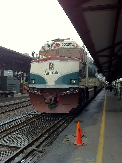 Amtrak 90250 at Portland's Union Station