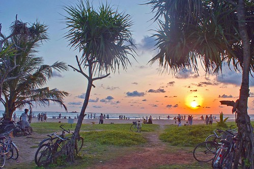 Sunset - Bentota Beach