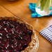 blackberry pie with gluten-free hazelnut crust