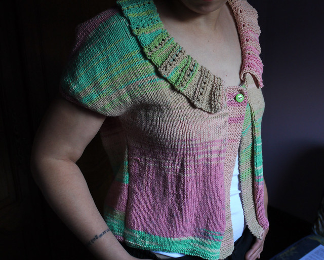 Knitting Patterns Summer Jackets : SUMMER CARDIGAN PATTERNS   Free Patterns