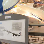 Steven F. Udvar-Hazy Center: Air France Concorde (caption)