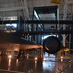Steven F. Udvar-Hazy Center: Lockheed SR-71 Blackbird port panorama