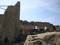 Larochette Castle ruins