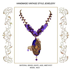 "Necklace ""Violet Dreams"""