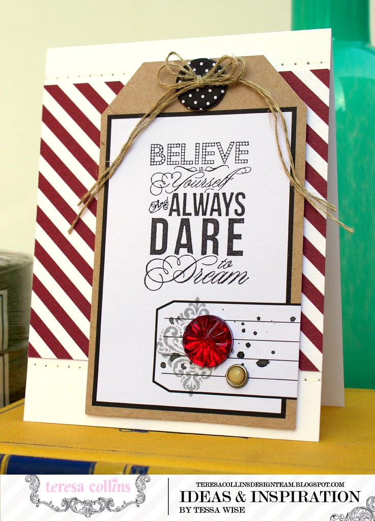 TERESA COLLINS DESIGN TEAM Dare To Dream Card