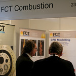 Delegates at the FCT Combustion Stand