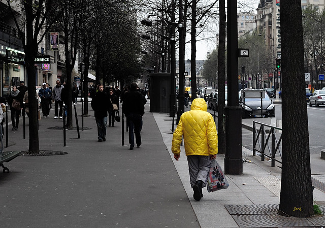 L'homme en jaune - the yellow man