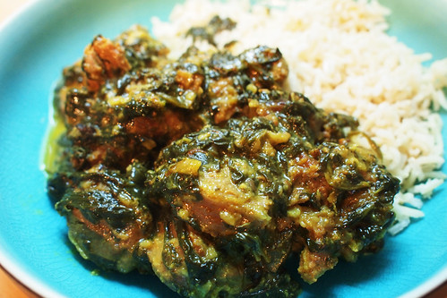 Indian Lamb & Spinach Curry Recipe — Dishmaps