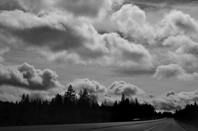 High Contrast Cloudscapes