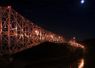Bridge Under The Moon and Stars