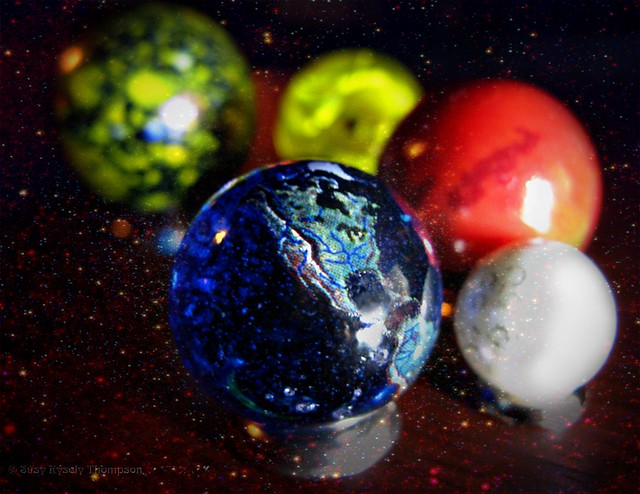 scale solar system marbles - photo #16