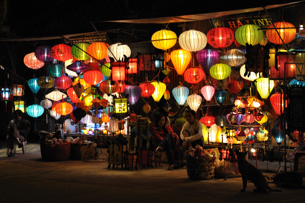 Lamp Vendors in Hội An