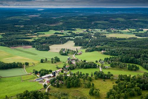 3 sweden siene swe västragötaland vårgårda flygfoto