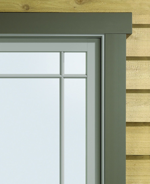 Exterior Window Trim Styles : A series casement with exterior trim