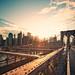Brooklyn Bridge Sunset IV by Philipp Klinger Photography