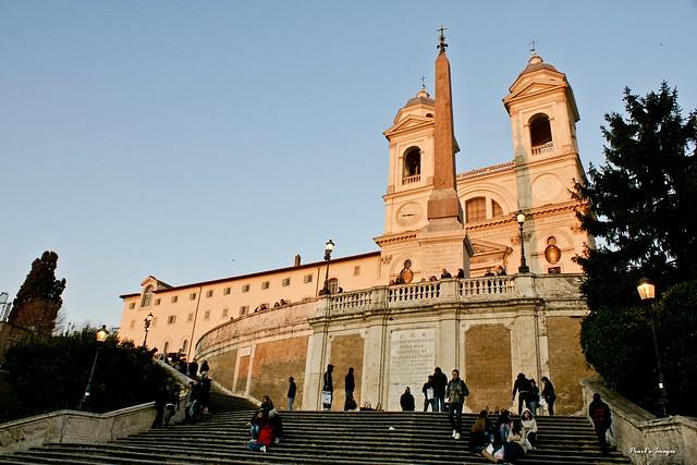 西班牙階梯 方尖碑