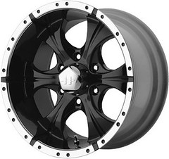 Helo HE791 Wheels in Black