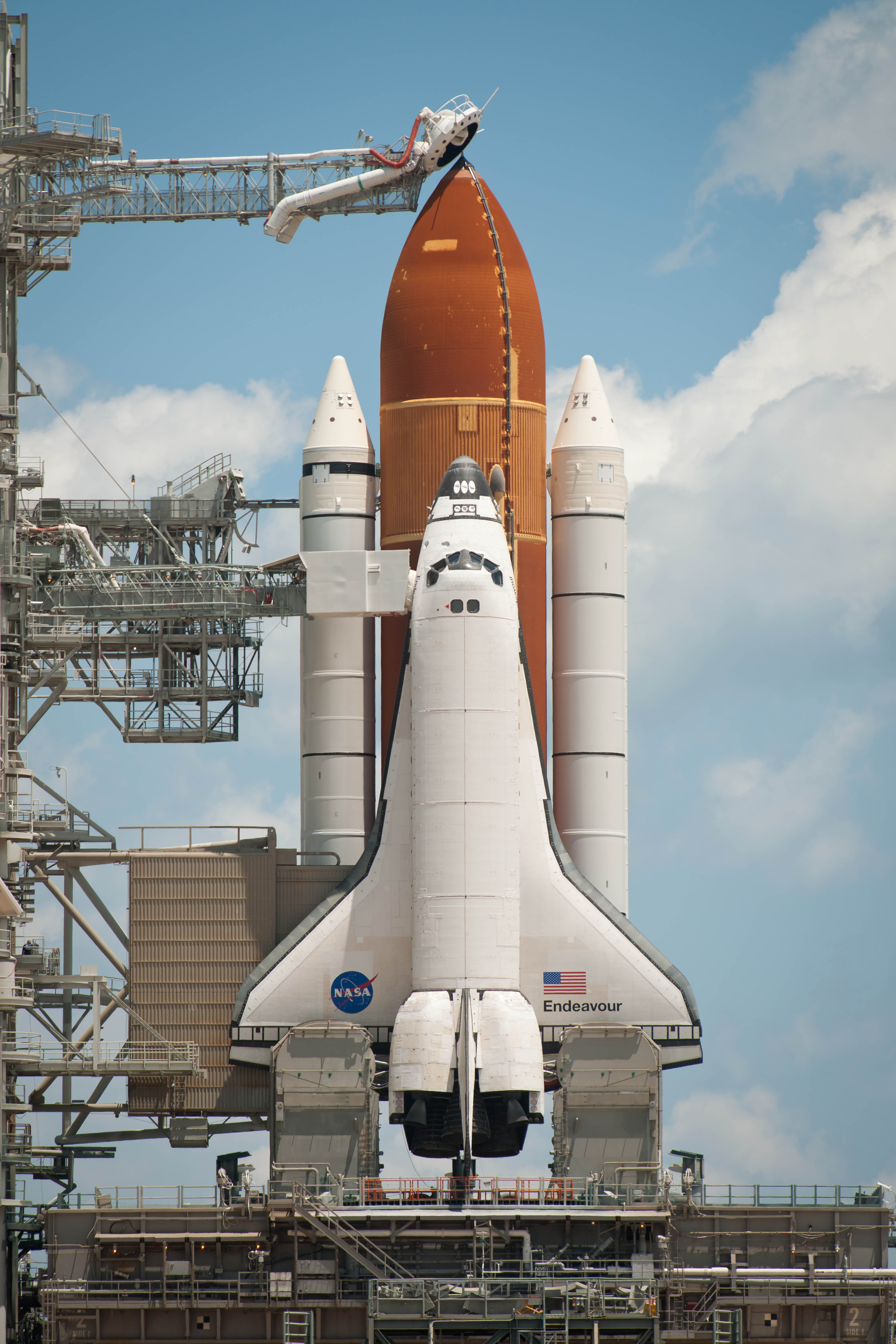 NASA Shuttle Launch Endeavor (page 2) - Pics about space