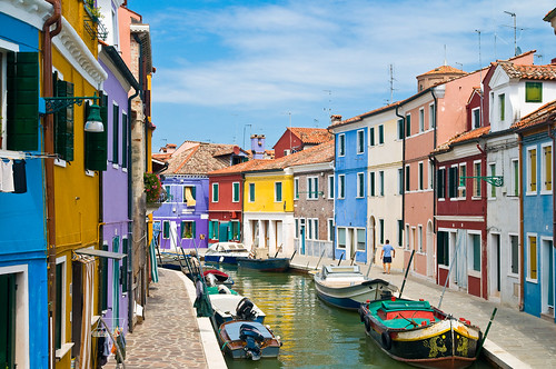Burano.Venice. Italy.